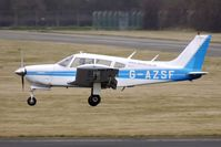 G-AZSF @ EGBJ - 1972 Piper PIPER PA-28R-200-2 arriving at Gloucestershire (Staverton) Airport