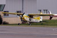 N180BB @ EGBJ - Based Cessna 180 K at Gloucestershire (Staverton) Airport