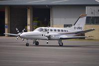 EI-DMG @ EGBJ - Cessna 441 parked at Gloucestershire (Staverton) Airport
