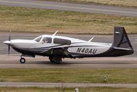 N40AU @ EGBJ - 2007 Mooney Airplane Co Inc M20TN at Gloucestershire (Staverton) Airport