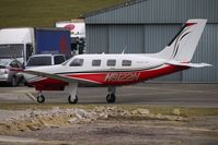 N9122N @ EGBJ - 1987 Piper PA-46-310P at Gloucestershire (Staverton) Airport