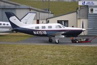 N41518 @ EGBJ - 2000 Piper PA 46-350P at Gloucestershire (Staverton) Airport
