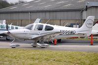 N696MD @ EGBJ - Cirrus SR22 at Gloucestershire (Staverton) Airport