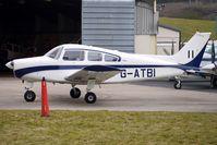 G-ATBI @ EGBJ - 1965 Beech BEECH A23 at Gloucestershire (Staverton) Airport