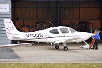 N112SR @ EGBJ - Cirrus SR22 at Gloucestershire (Staverton) Airport