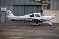 N722DR @ EGBJ - Cirrus SR22 at Gloucestershire (Staverton) Airport