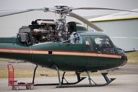 G-LNTY @ EGBJ - Helicopter receiving maintenance at Gloucestershire (Staverton) Airport