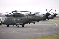 ZA936 @ EGBJ - SA330 Puma re-fuels at Gloucestershire (Staverton) Airport