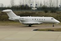 LX-TQJ @ EGGW - Challenger 300 at Luton - by Terry Fletcher