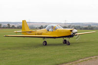 G-BUUF @ EGSP - Slingsby T-67M Firefly Mk2 at Peterborough/Sibson Airfield in 2005. - by Malcolm Clarke