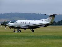 M-PRIT @ EGHR - Pilatus PC12/47E M-PRIT Pritchart - by Alex Smit