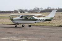 N30593 @ EGTC - Cessna 210L, c/n: 21059938 - by Trevor Toone
