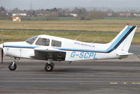 G-SCPL @ EGBJ - 1977 Piper PIPER PA-28-140 at Gloucestershire (Staverton) Airport