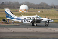 G-BPON @ EGBJ - Piper Seneca at Gloucestershire (Staverton) Airport