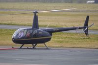 EI-LAD @ EGBJ - Irish Robinson R44II at Gloucestershire (Staverton) Airport