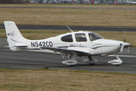 N542CD @ EGBJ - Cirrus SR22 at Gloucestershire (Staverton) Airport