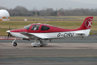G-CIRU @ EGBJ - Cirrus SR20 at Gloucestershire (Staverton) Airport