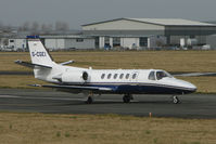 G-CGEI @ EGBJ - Cessna 550 at Gloucestershire (Staverton) Airport