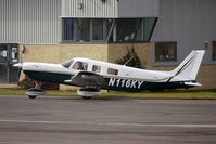 N116KY @ EGBJ - 2004 Piper PA32-301FT at Gloucestershire (Staverton) Airport - by Terry Fletcher