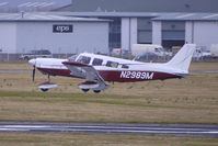N2989M @ EGBJ - 1977 Piper PA-32-300 landing at Gloucestershire (Staverton) Airport