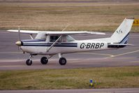 G-BRBP @ EGBJ - 1980 Cessna CESSNA 152 at Gloucestershire (Staverton) Airport