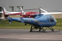 G-ZZMM @ EGBJ - Enstrom 480 at Gloucestershire (Staverton) Airport