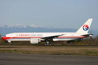B-2077 @ KPAE - KPAE Boeing 97 departing to KMWH