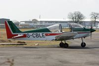 G-CBLE @ EGHH - Flying Club Robin