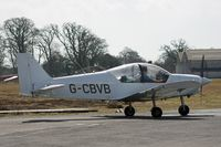 G-CBVB @ EGHH - Flying Club Robin