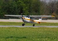 N11630 @ KAJO - Landing flare Runway 25 - by Marty Kusch