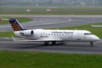 D-ACRO @ EDDL - Canadair CRJ-200LR [7494] (Eurowings/Lufthansa Regional) Dusseldorf~D 27/05/2006. Seen taxiing out for departure.