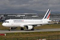 F-GFKM @ EDDF - Air France - by Volker Hilpert