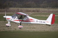 G-CEAK @ EGCB - Based Ikarus C42 at Barton - by Terry Fletcher