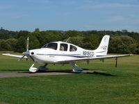 N916CD @ EGKR - Cirrus Aircraft SR22 N916CD Farnborough Aircraft
