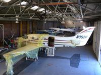 N352F @ EGKR - Farnborough Aircraft Kestrel F1 N352F prototype