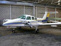 G-GBSL @ EGKR - Beechcraft Be76 Duchess G-GBSL Cundell