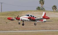 N310PK @ KRAL - Riverside Airshow 2009