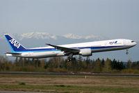 JA785A @ KPAE - KPAE Boeing 002 departing on the C1 customer flight