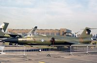 104808 - CF-104 Starfighter of 441 Squadron Canadian Armed Forces at the 1977 Royal Review at RAF Finningley. - by Peter Nicholson