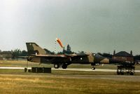 A8-143 - 6 Squadron Royal Australian Air Force F-111C displaying at the 1977 Royal Review at RAF Finningley. - by Peter Nicholson