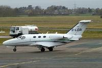 G-LEAI @ EGBJ - Cessna Citation Mustang [510-0052] Staverton~G 19/03/2010.