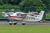 D-EDNA @ EGBP - Bolkow Bo.208C Junior [578]  Kemble~G 02/07/2005. Seen taxiing out for departure. - by Ray Barber
