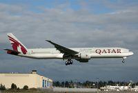 A7-BAK @ KPAE - KPAE Boeing 881 returning from a test flight KPAE-KMWH-KPAE