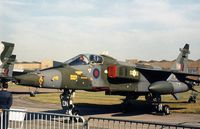 XZ387 - Jaguar GR.1 of 31 Squadron on display at the 1977 Royal Review at RAF Finningley. - by Peter Nicholson