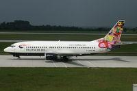 D-ADBT @ EDDM - Deutsche BA 737-300 - by Andy Graf-VAP