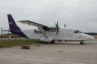 D-CFDX @ LOWW - Fedex SH360 - by Andy Graf-VAP