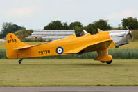 G-AKAT @ EG10 - Arriving back at Breighton after a brief sortie. - by MikeP