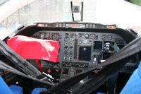 90-0400 @ KIAH - T-1A cockpit view. - by Darryl Roach