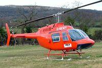 G-BEWY @ EGBC - Bell 206B-2 Jet Ranger II [348] Cheltenham~G 12/03/2009. Seen at Cheltenham Racecourse during Gold Cup Week.
