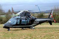 G-STNS @ EGBC - Agusta A.109A-II [7324] Cheltenham~G 12/03/2009. Seen at Cheltenham Racecourse during Gold Cup Week.
